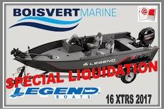 2017 Legend Boats 16 XTR S (NEUF)  $ SPÉCIAL LIQUIDATION $