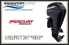 2017 MERCURY 115ELPTCT NEUF