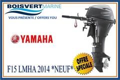 2014 YAMAHA F15LMHA *NEUF* (LIQUIDATION)