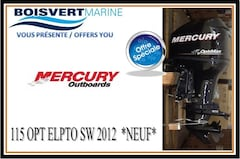 2012 MERCURY 115 OPT ELPTO SW -EAU SALÉ- *NEUF* (LIQUIDATION)