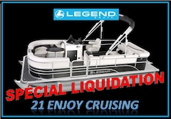 2017 Legend Boats 21 ENJOY CRUISING DW SP (NEUF) *LIQUIDATION*
