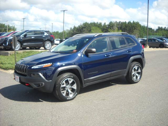 Used 2015 Jeep Cherokee Trailhawk 4x4 SUV In Bangor