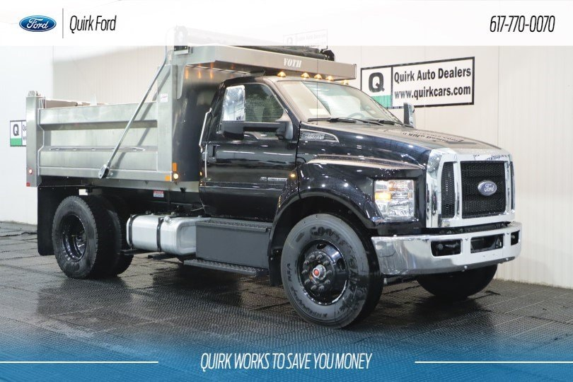 2019 Ford F-650 Diesel Base Truck Regular Cab