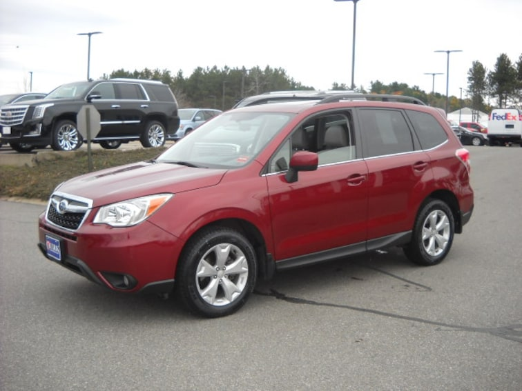 Used 2015 Subaru Forester 2.5I Limited in Bangor