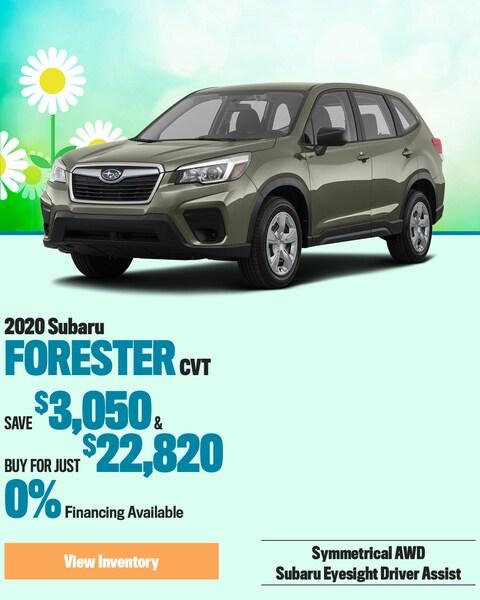 2020 Subaru Forester CVT
