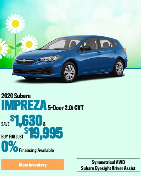 2020 Subaru Impreza 5-Door 2.0i CVT