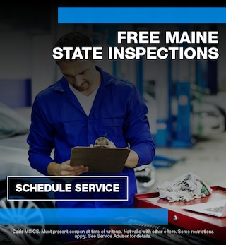 Free Maine State Inspections