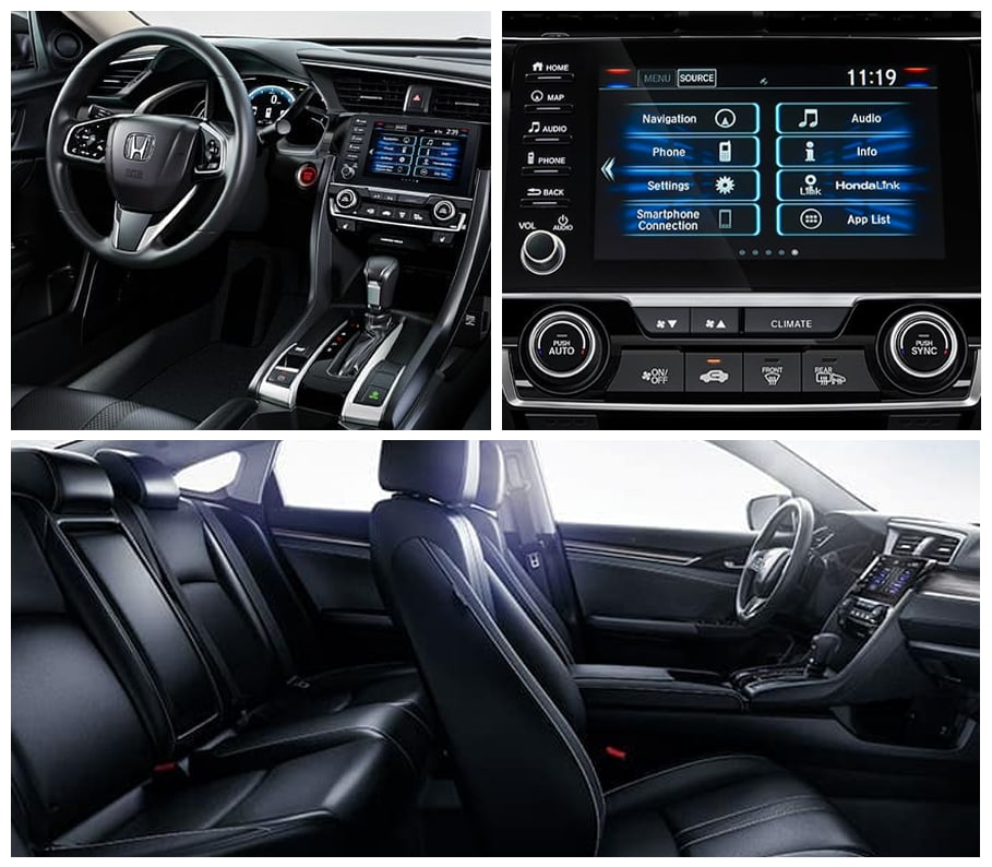 Racine WI 2020 Honda Civic Safety & Technology