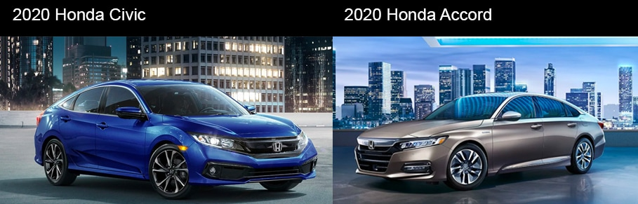 Which Honda is Best For You? 2020 Honda Civic vs 2020 Honda Accord