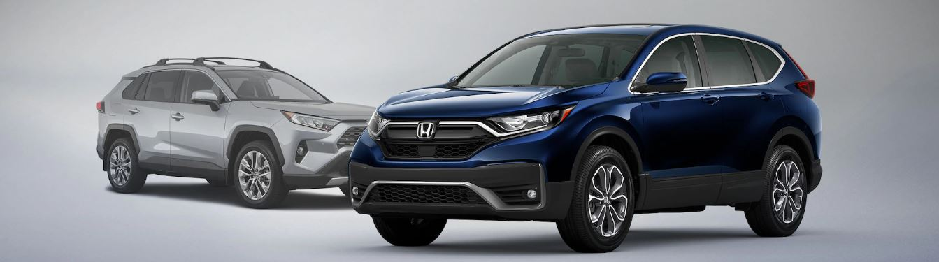 2021 Honda CR-V vs Toyota RAV-4 Feature Comparison