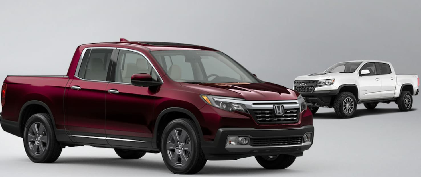 2020 Honda Ridgeline vs Chevy Colorado Feature Comparison