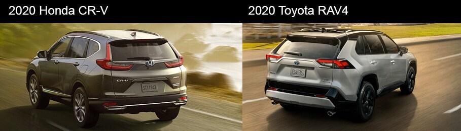 2020 Honda CR-V vs 2020 Toyota RAV-4 Interior