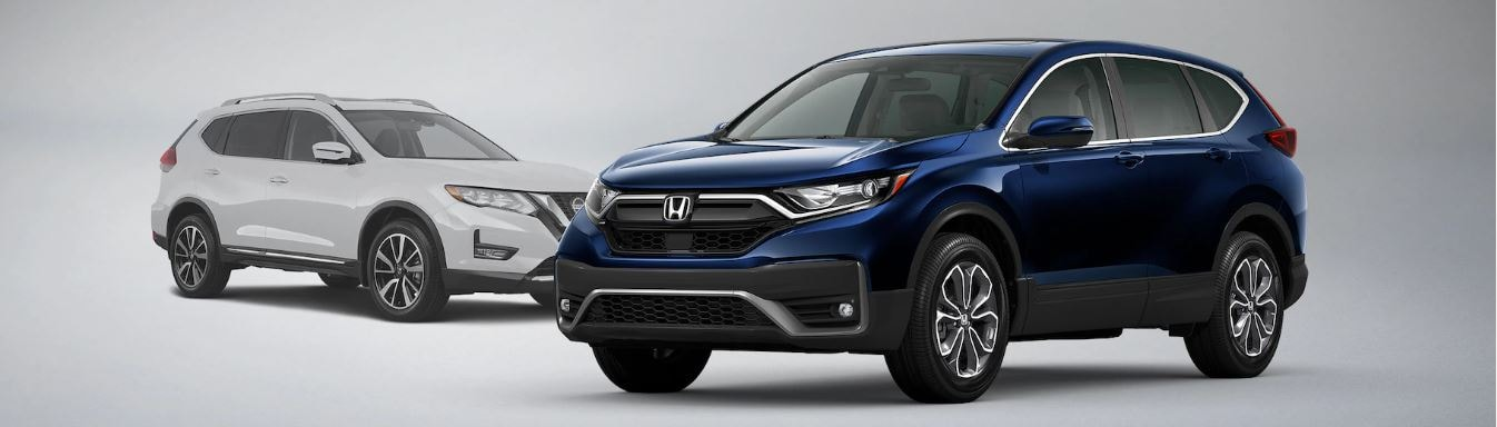 2021 Honda CR-V vs Nissan Rogue Feature Comparison