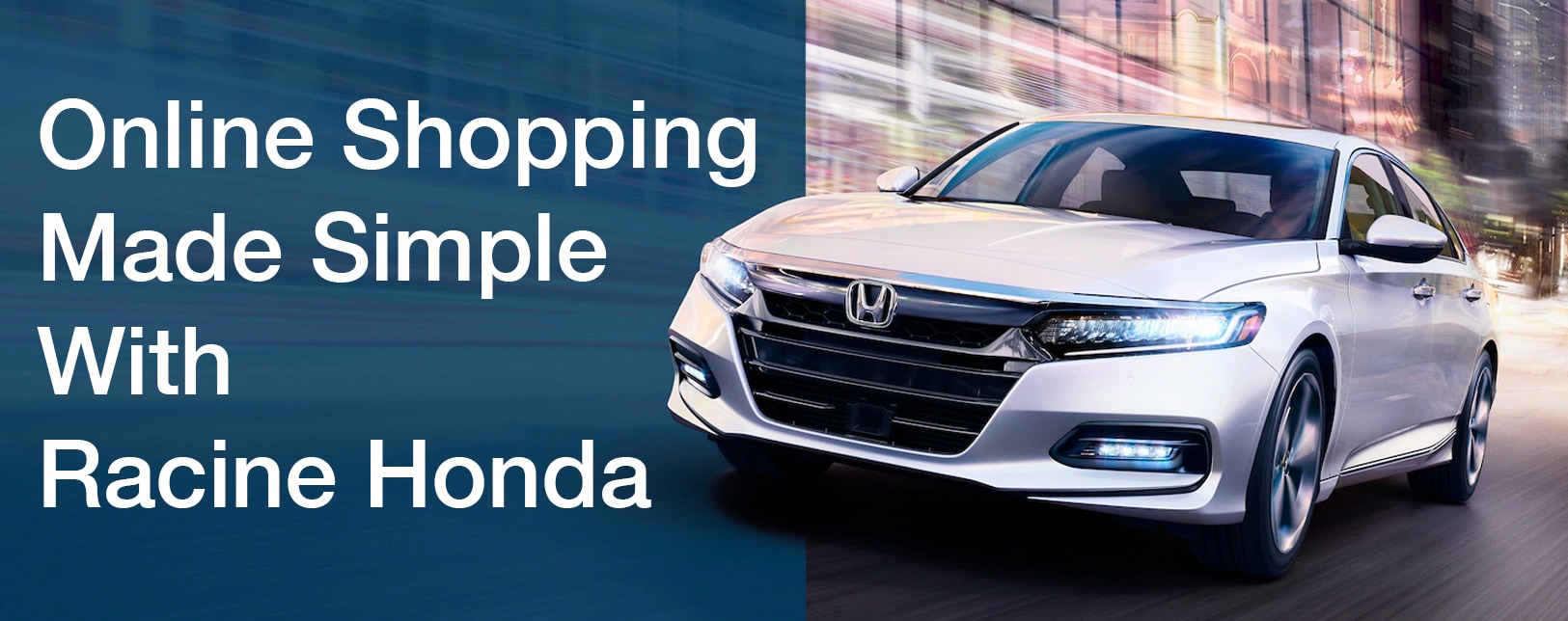 Shop Simple with Racine Honda