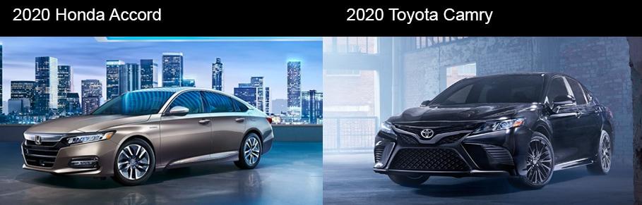 2020 Honda Accord vs 2020 Toyota Camry Racine