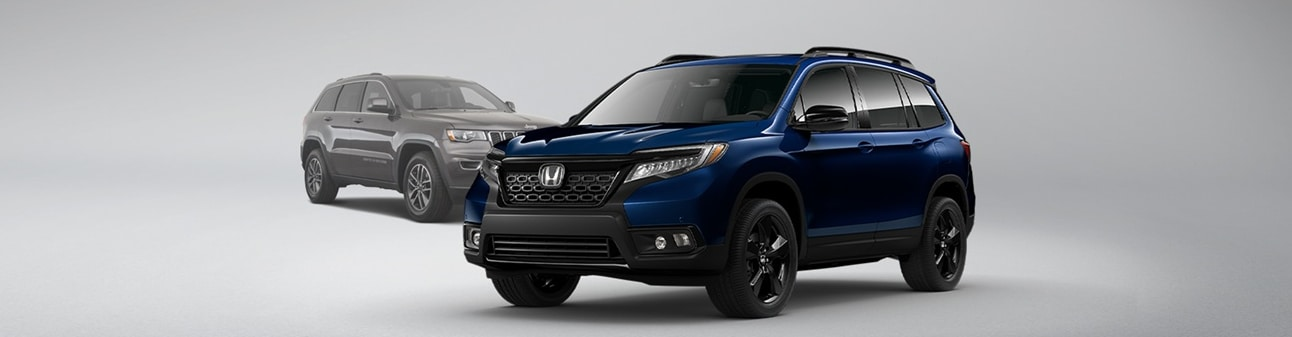 2021 Honda Passport vs Jeep Grand Cherokee Feature Comparison