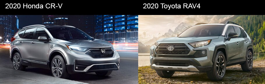 2020 Honda CR-V vs 2020 Toyota RAV-4 Racine