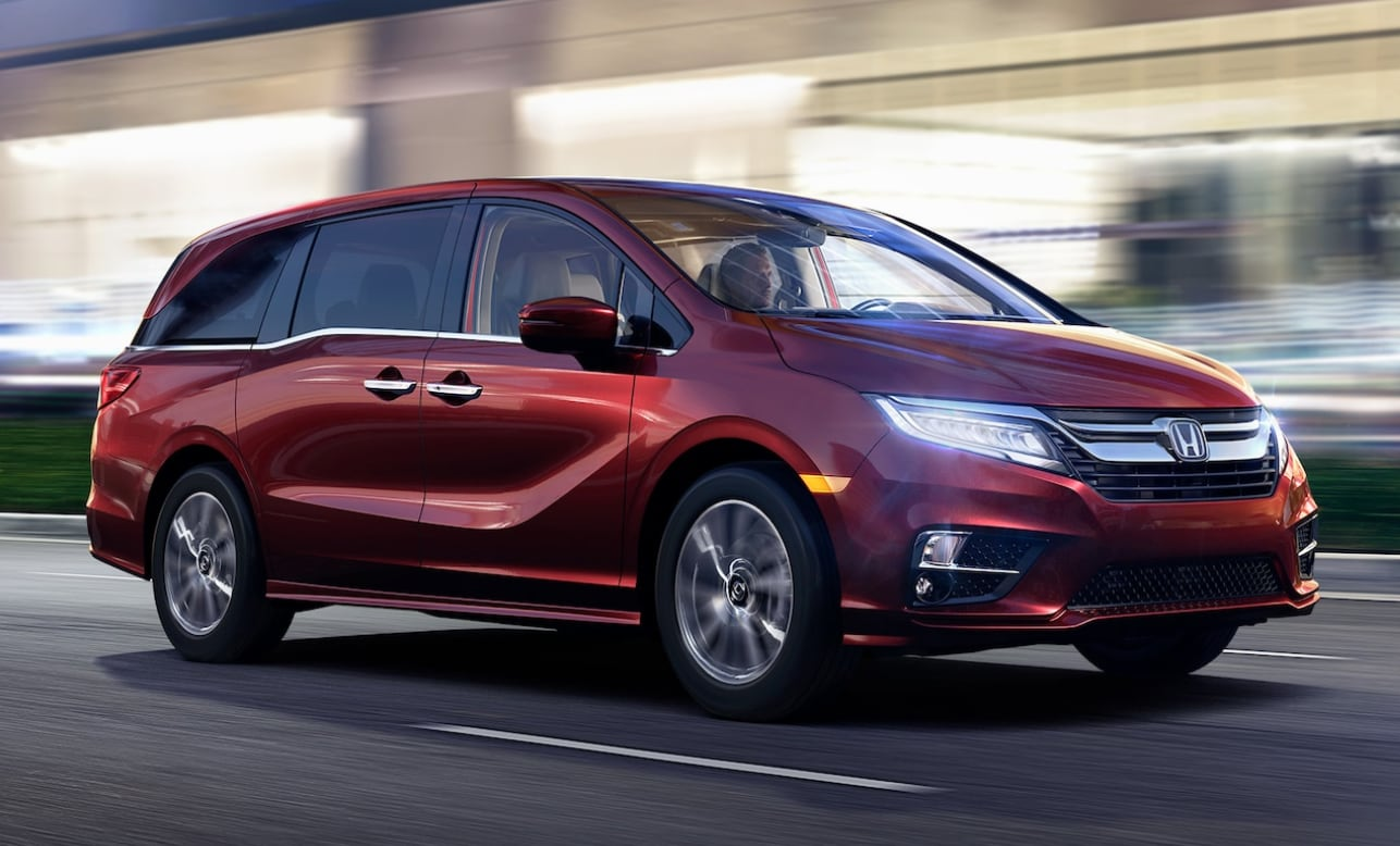 Honda Odyssey Exterior Design and Performance Features