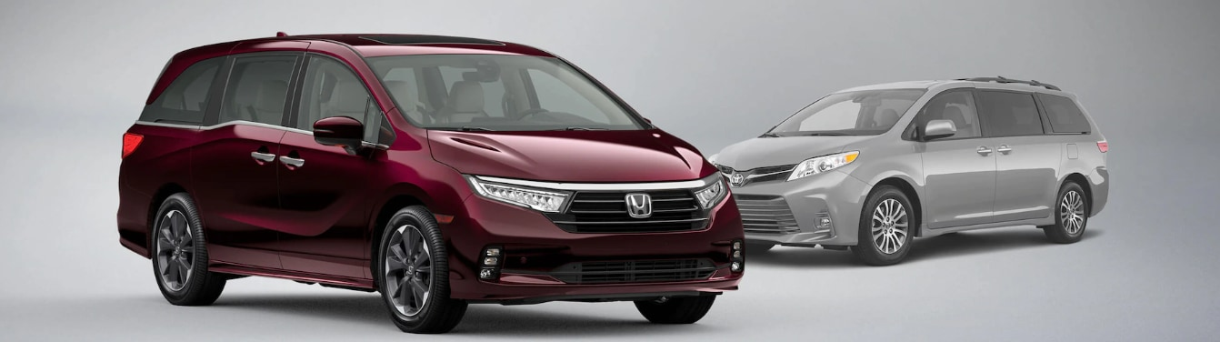2021 Honda Odyssey vs Toyota Sienna Feature Comparison