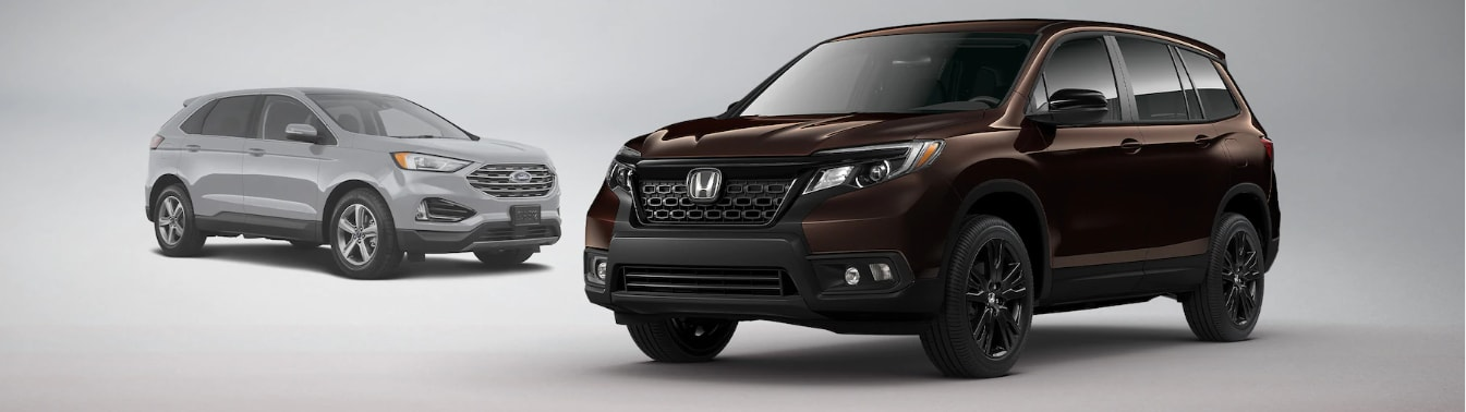 2021 Honda Passport vs Ford Edge Feature Comparison