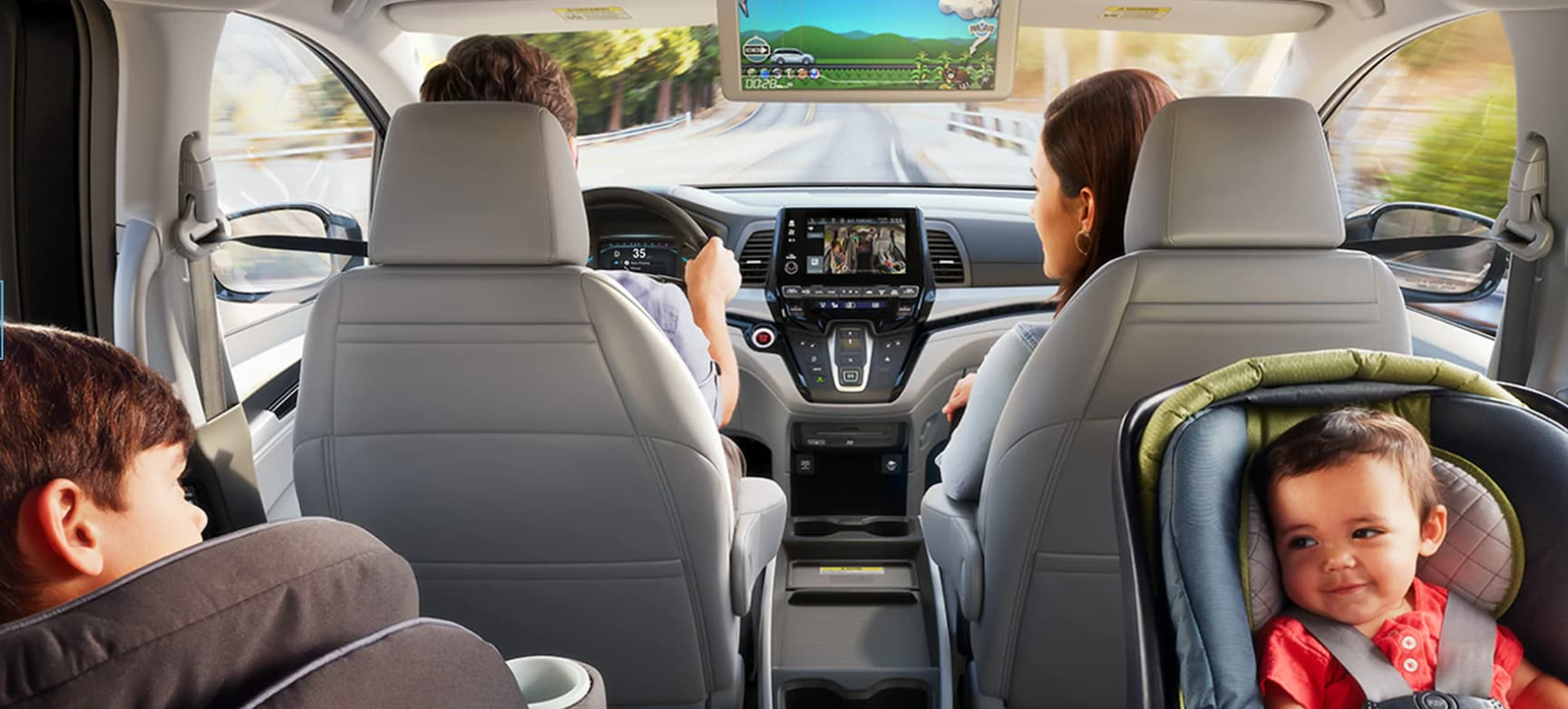 Honda Odyssey Interior Features