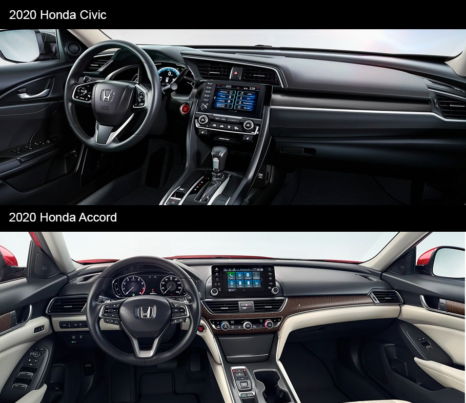2020 Accord vs 2020 Civic Performance Racine