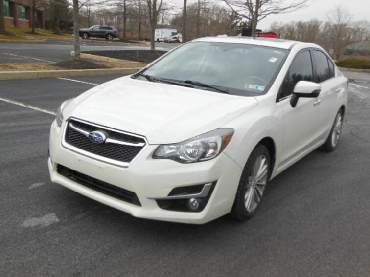 2015 Subaru Impreza 2.0i Limited w/ Navigation and Eye Sight Sedan