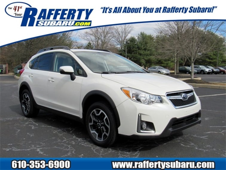 2016 Subaru Crosstrek 2.0i Limited w/ Navigation and Moonroof SUV