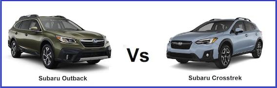 Subaru Crosstrek Vs Outback >> Comapre Subaru Outback Vs 2019 Subaru Crosstrek Rafferty