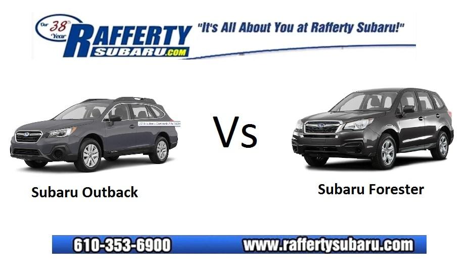 Subaru Outback Vs Forester >> 2019 Subaru Outback Versus 2019 Subaru Forester