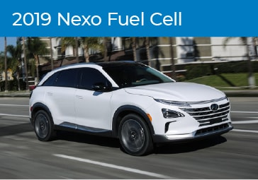 2019 Hyundai Nexo Fuel Cell Model Details