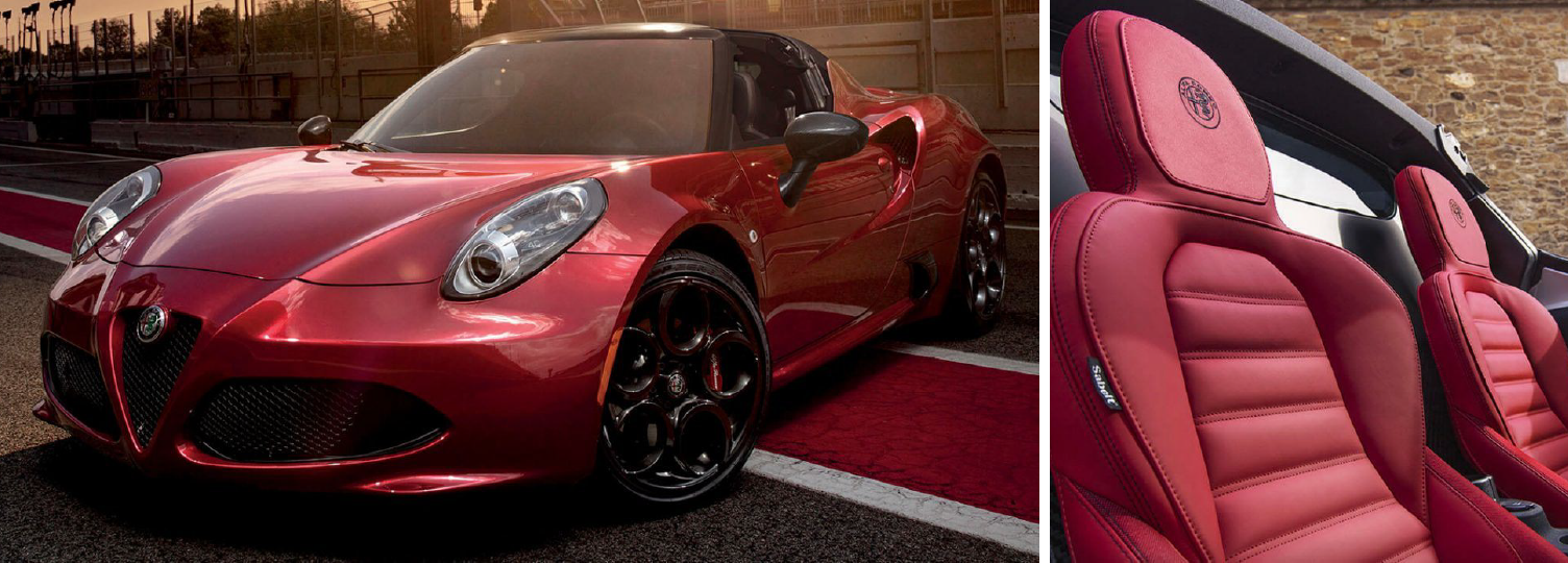 2019 Alfa Romeo 4c And Spider Features Details Specs Wheels It Also Boasts 18 Inch Front 19 Rear Dark Fan Spoke Aluminum Which Complement Its Sleek Overall Design