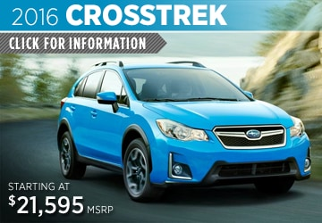 Click to View 2016 Subaru Crosstrek Model Details in Auburn, WA