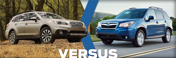 Forester Vs Outback >> 2016 Subaru Outback Vs Forester Feature Detail Comparison