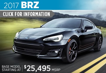 2017 Subaru BRZ Model Details in Auburn, WA