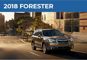 2018 Subaru Forester Model Details in Auburn, WA