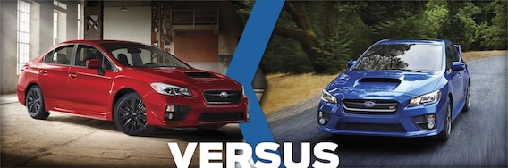 2016 Subaru WRX VS 2016 WRX STI Model Comparison | Auburn, WA