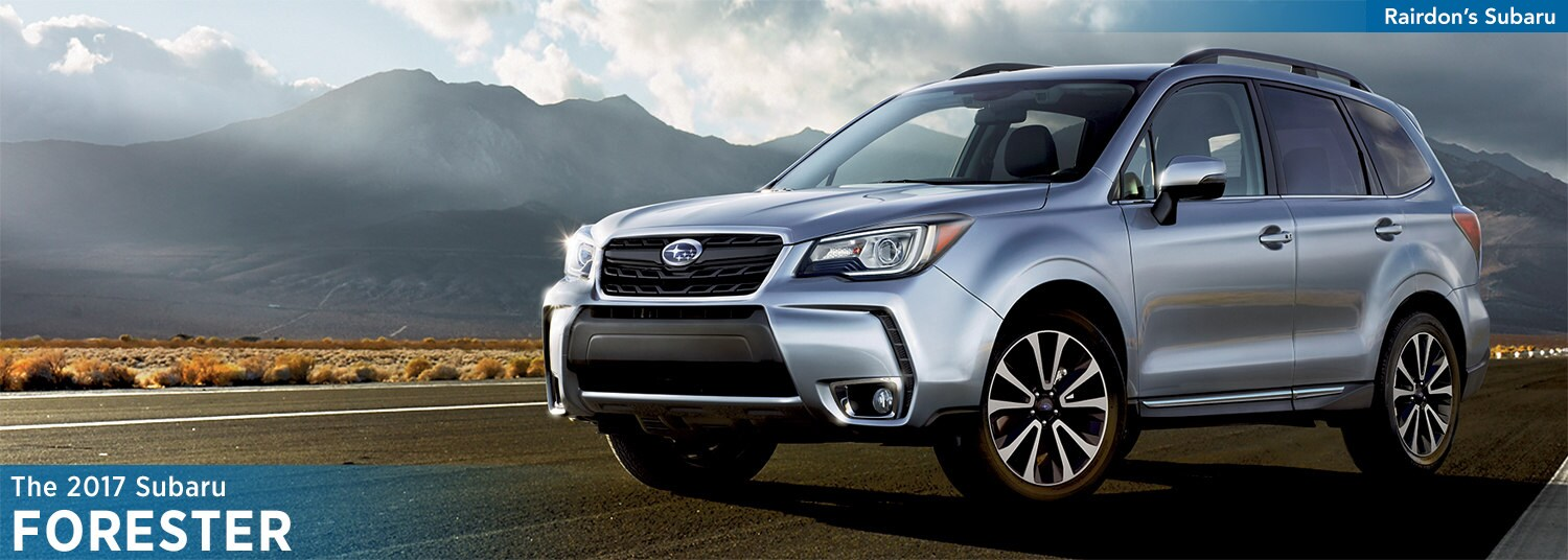 2017 Subaru Forester Model Features & Details