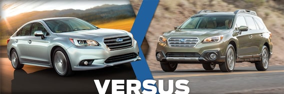 Compare Subaru Models >> 2016 Subaru Legacy Vs Outback Model Feature Comparison