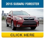 Click to compare the 2016 Subaru Forester & 2015 Subaru Forester Models in Auburn, CA
