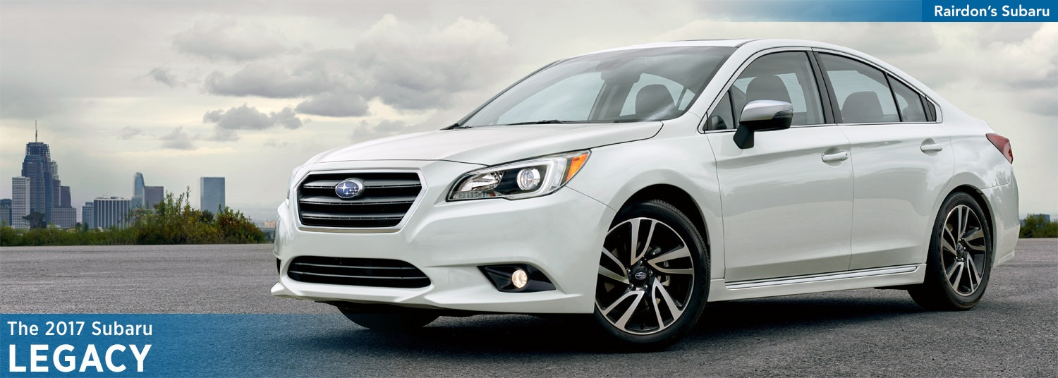 2017 Subaru Legacy Model Features & Details