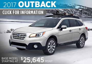 2017 Subaru Outback Model Details in Auburn, WA