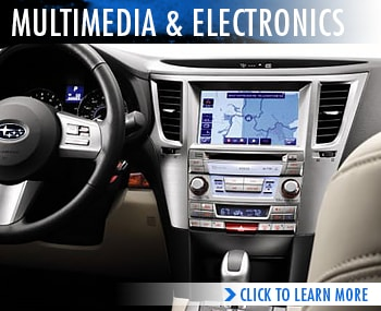 Rairdon's Subaru Multimedia & Electronics Specifications