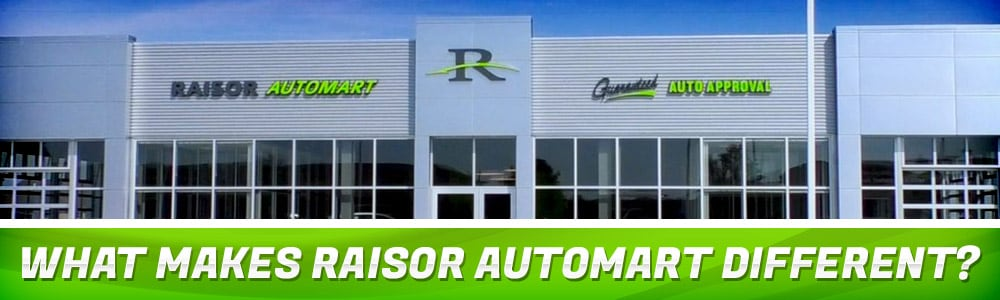 What Makes Raisor Automart Different? | Lafayette, IN