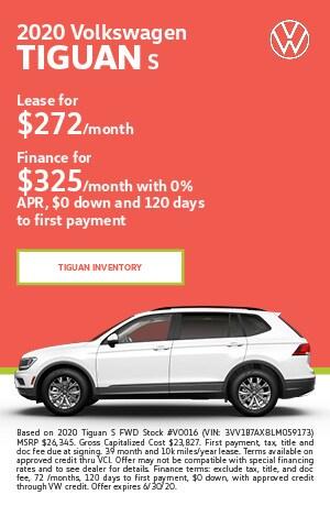 June 2020 Volkswagen Tiguan