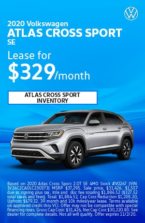 October 2020 Volkswagen Atlas Cross Sport