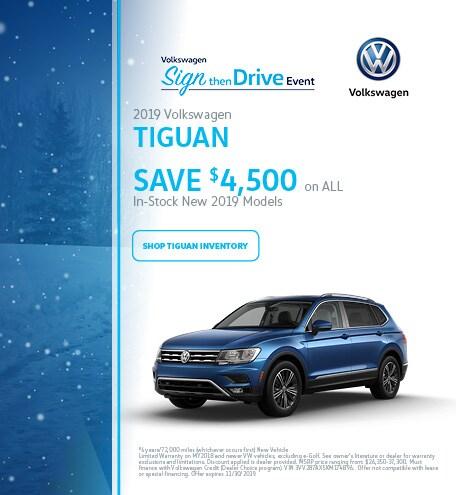 November 2019 Volkswagen Tiguan