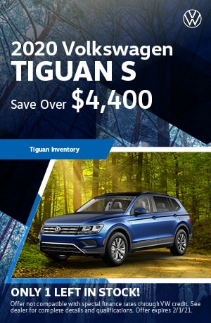 January 2020 VW Tiguan
