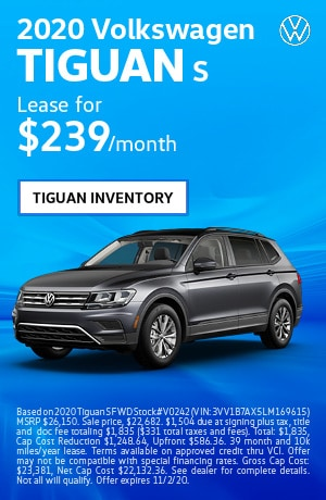 October 2020 Volkswagen Tiguan