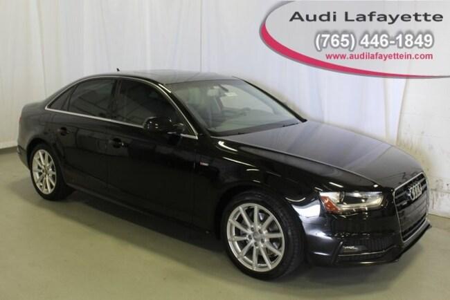 Used 2015 Audi A4 2.0T Premium (Tiptronic) Sedan Lafayette, IN